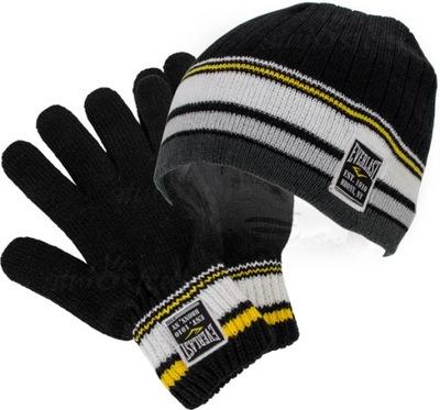 Czapka Rękawiczki EVERLAST Komplet zimowe
