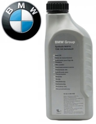 СОСТОЯНИЕ НОВОЕ С МАСЛО PRZEKLADNIOWY MSP/A BMW 75W-140 ASO