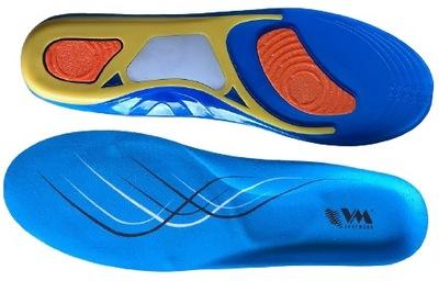 Wkładki Żelowe Uniwersal Do Butów Sportowych 41-46