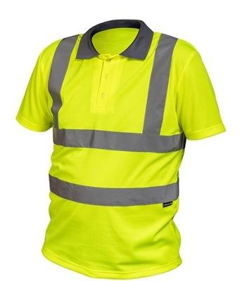 Koszulka polo robocza odblaskowa ostrzegawcza