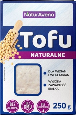Тофу натуральные кубик 250g NaturAvena