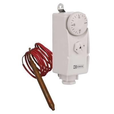 Pripevňovací termostat T80F s kapilárnym snímačom