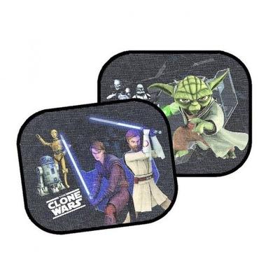 AZ Zasłonki przeciwsłoneczne kwadrat Star Wars 2 s