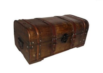 Сундук из дерева s764c Упаковка подарка коробка
