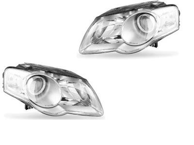 REFLEKTORY ФАРА VW PASSAT B6 2005-2010 H7+H7