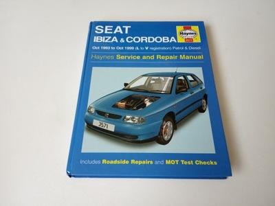 SEAT IBIZA & CORDOBA, 1993-1999, haynes