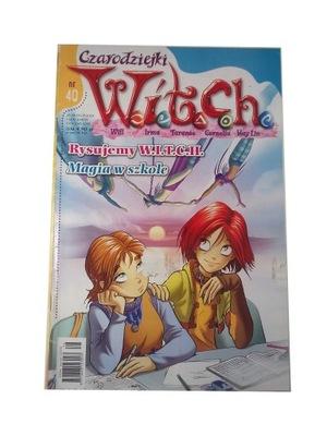 W.I.T.C.H. CZARODZIEJKI nr 40 2004 r.
