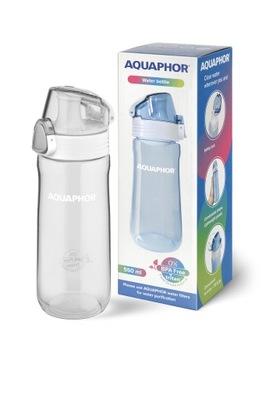Bidon butelka na wodę Aquaphor 550 ml szara