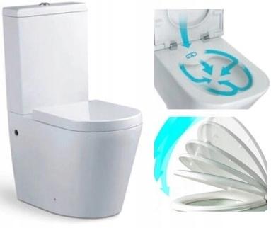 ?????????? Туалет BEZRANTOWY T8002+доска медленно instagram +коврик