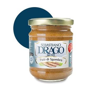 DRAGO Pasztet z makreli 180g