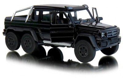 Mercedes Benz G 63 AMG 6x6 Jeep METAL Welly 1:34