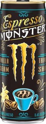 Espresso Monster Vanilla, napój kawowy z aromatem