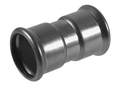 Lisovaný kĺb KAN-therm 42 mm PRESS nehrdzavejúca oceľ