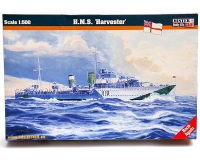 Royal Navy Ship HMS Harvester 1:500 model Mister C