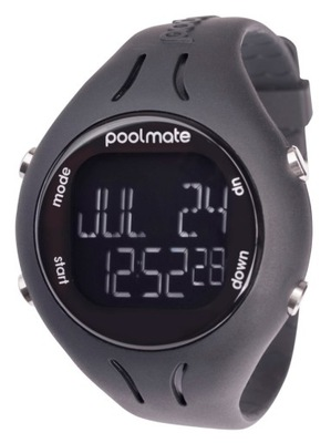 Zegarek pływacki PoolMate 2 czarny SWIMOVATE