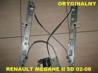 RENAULT MEGANE II 2 5D МЕХАНИЗМ СТЕКЛА ПЕРЕД ЛЕВЫЙ