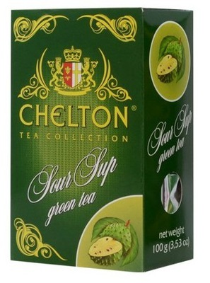 Chelton 100г Зеленый Чай сметанного яблока зеленый листовой