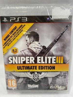 Sniper Elite 3 Afrika Iii Ps3 Pl Playstation 3 7405016920 Oficjalne Archiwum Allegro