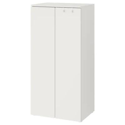 IKEA SMASTAD PLATSA Szafa biały/ biały 60x40x123cm
