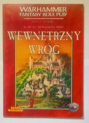 Wewnętrzyny wróg - Warhammer RPG 1 ed
