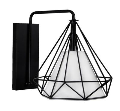 Sconces lampa sconces stenu, black white loft
