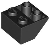 LEGO Klocek - slope invert 45 2x2 (3660) czarny x5
