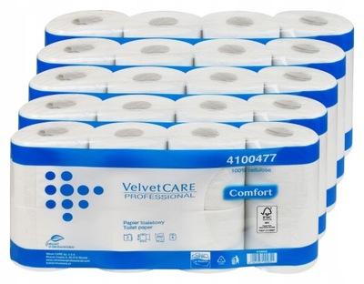 бумага туалет Velvet Care 40шт ДЛИННЫЙ 27 ,5м