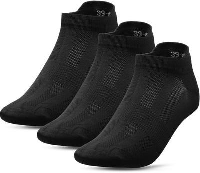 Skarpety męskie 4F - SOM011 - czarne 39-42