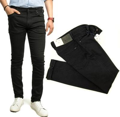 Mustang Vegas Black 900 spodnie jeans Slim W34 L32
