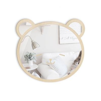 Zrkadlo detská izba BEAR dekorácia na stenu