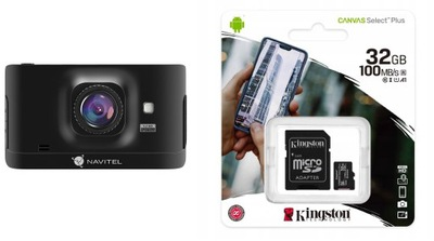Navitel R400 Rejestrator jazdy kamera Video + 32GB