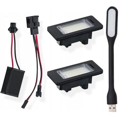 ПІДСВІТКА LED (СВІТЛОДІОД) AUDI A4 B8 A5 Q3 Q5 TT PASSAT B6