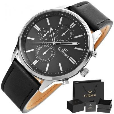 Zegarek męski GINO ROSSI zegarki męskie skórzany