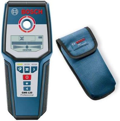 Bosch GMS 120 Детектор металлов, дерева, проводов
