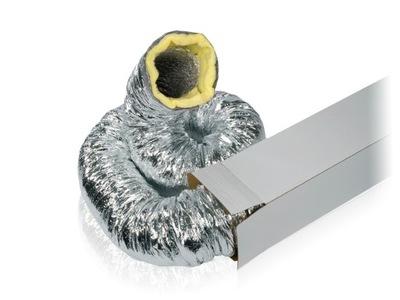 Flexibilná trubica v ochranná vrstva z minerálnych 10mb 150 mm až 140*C