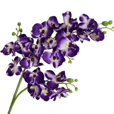 Ветка искусственный Цветы, Как живой Орхидея 78см