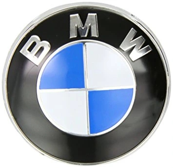 INSIGNIA EMBLEMA TAPA DE MALETERO PARTE TRASERA BMW 78MM E91 E39 E46