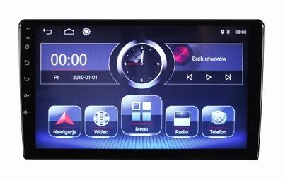 RADIO NAVEGACIÓN GPS 9 INTEGROS LCD ANDROID 10 FM RDS
