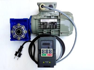 Przekładnia silnik 1,1,kW falownik 230V
