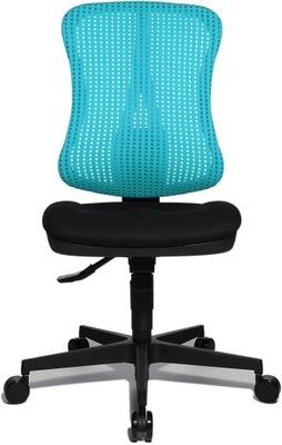 Fotel obrotowy topstar odcienie niebieskiego