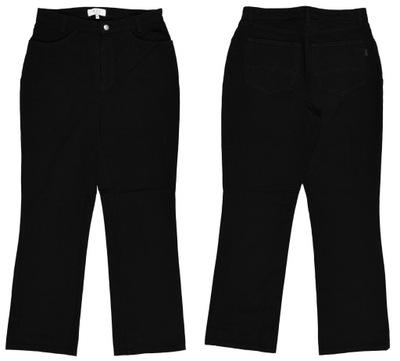 MAC MELANIE czarne jeansy ze streczem r. 40