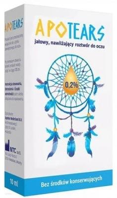 Krople do oczu ApoTears 0,2% hialuronian 10 ml