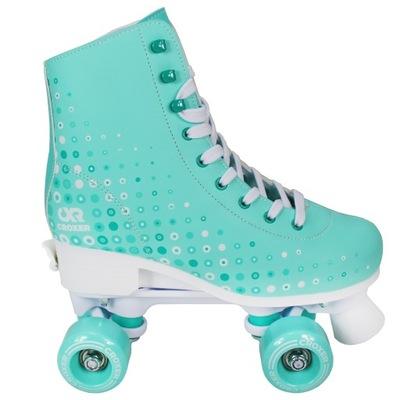 Nastaviteľné korčule Croxer Eysa White / Mint 31-34