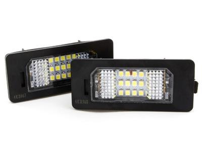 ПОДСВЕТКА НОМЕРА LED (СВЕТОДИОД ) DO BMW E39 E60 E70 E90