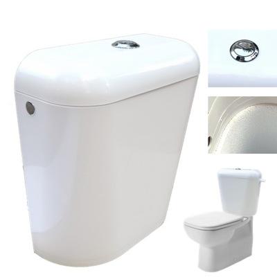 Spłuczka Zbiornik do Kompakt WC dolnopłuk 3/6 litr