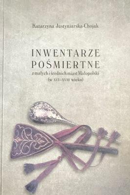 Inwentarze pośmiertne z miast Małopolski