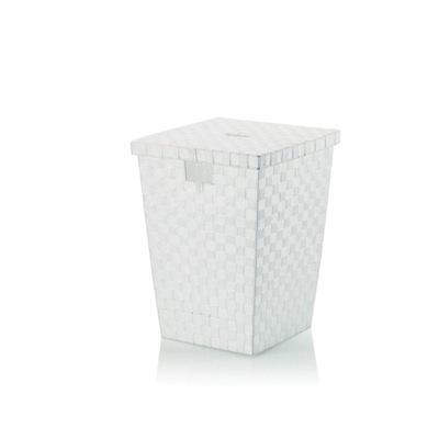 Košík kela karty Alvaro na bielizeň, 40x40x52 cm, biela