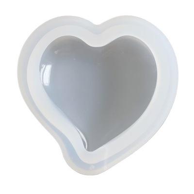 BFS169 Форма силиконовая для смол сердце 75мм