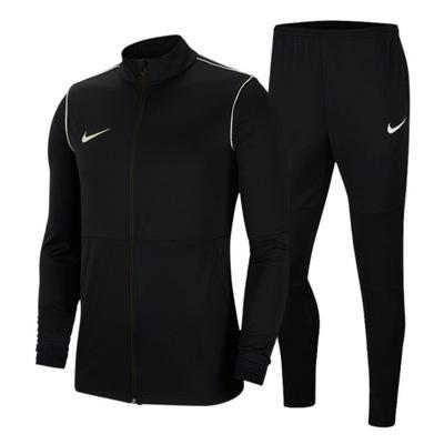 Komplet Męski Dres Nike Spodnie Bluza Park20 L