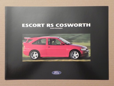 FORD ESCORT RS COSWORTH - 1992 r